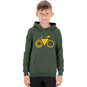 Cube Junior Hoodie Bike Boys green